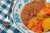 Asian Curry Bee Hoon