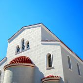 White Church On Crete