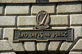 Post Office Sign In Gaelic