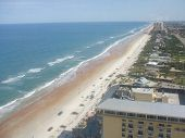 view of daytona beach flordia from