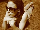 Model In The Sun