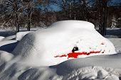 Car In A Snowdrift