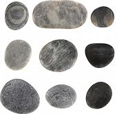 Vector stones isolated