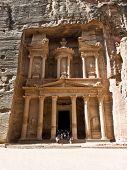 Templo de tesouro, em Petra