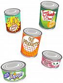 canned vector graphics set 2