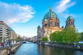 Berliner Dom In Berlin City, Germany On Museum Island In The Mitte Borough. poster