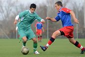 KAPOSVAR, HUNGARY - NOVEMBER 6: Unidentified players in action at the Hungarian National Championshi