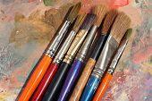Studioart Paint Palette & Brushes