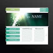 Vector Site Template