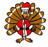 Turkey Santa