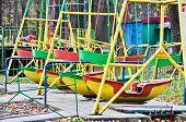 swing boats