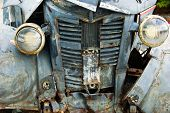 verfallende alten Pickup-truck