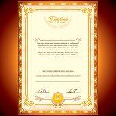 Vector Golden Certificate