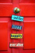 Sign On Door: