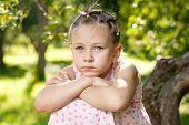 Thoughtful Little Girl