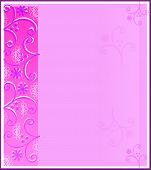 Pink Paperswirls