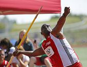 Trinidad Tobago Man Javelin Throw