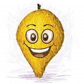 Happy Canistel Fruit