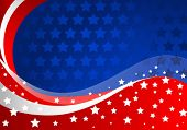 Fourth of July celebration background