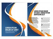 foto of brochure  - vector business brochure - JPG
