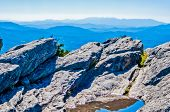 picture of asheville  - Blue Ridge Parkway Scenic Mountains Overlooking beautiful landscapes - JPG