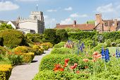 Nieuwe plaats Tuin, Stratford-upon-Avon, Warwickshire, Engeland