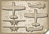 Old Plane Project In Six Views