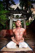 Yoga Baddha Padmasana
