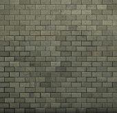 Tile Mosaic Wall Floor Grunge Stone 3D Render