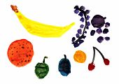 Fruit Children's Drawing