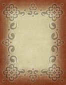 Old Paper Bold Border
