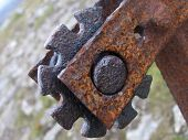 Rusty Fence Post