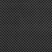 Black rubber texture closeup background.