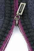 Zipper On Woolen Clothes