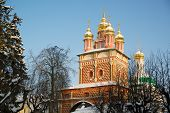 Nice Church From Sergiev Posad