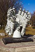 Soviet Ship Missile Launcher. Kaliningrad (Koenigsberg Before 1946), Russia