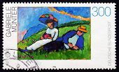 Postage Stamp Germany 1994 Couple Lying On Grass