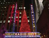 New York City landmark  Radio City Music Hall in Rockefeller Center