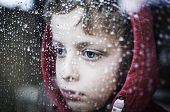 image of child missing  - Depressed or sad boy who can - JPG