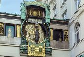 Anker Clock, Vienna