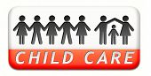 child care in daycare or cr�?�?�?�¨che by nanny or au pair parenting or babysitting children pr