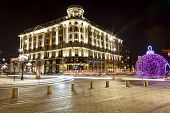 Hotel Bristol At Night, Warsaw