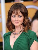LOS ANGELES - JAN 27:  Alexis Bledel arrives to the SAG Awards 2013  on January 27, 2013 in Los Ange
