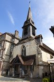 Saint Etienne, 14th century church hosting the naval museum at Honfleur, Basse-Normandie, France