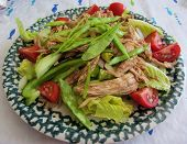 Leftover Thanksgiving Turkey Salad