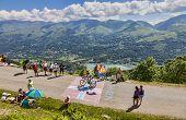 Road To Col De Val Louron Azet