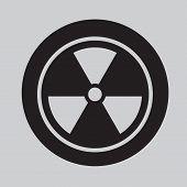 Radiation Symbol icon Vector