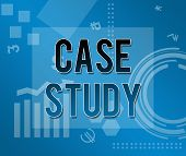 Case Study Business Theme Background