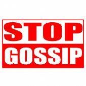 Stop Gossip Stamp