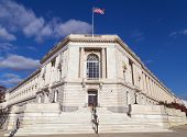 image of senators  - This is the Russell Senate Office Building in Washington - JPG
